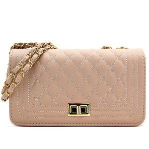 My Bag Lady Online Bags - Classic Quilted Boy Flap Crossbody Bag